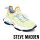 STEVE MADDEN-MAC 亮彩撞色綁帶彈性襪套式休閒球鞋-特殊紋綠色 product thumbnail 1