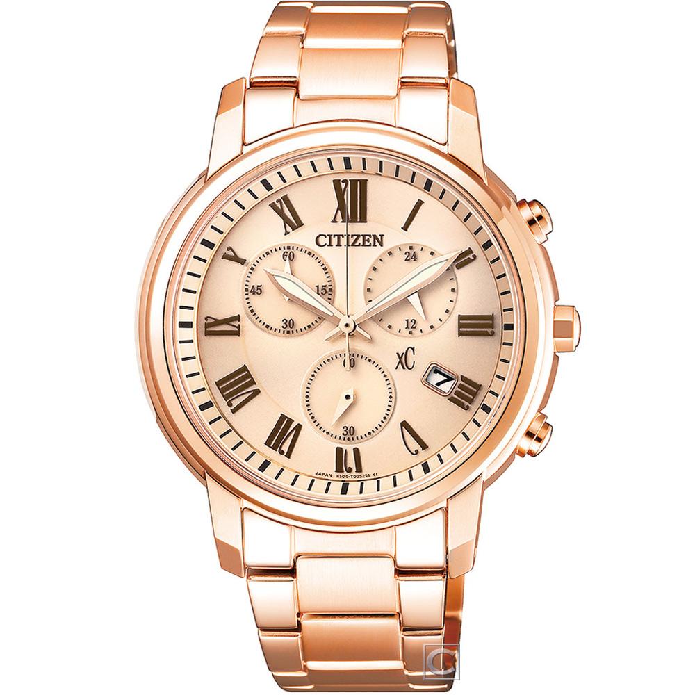 CITIZEN xC 典雅風範 限定計時腕錶(FB1432-55X)38mm @ Y!購物