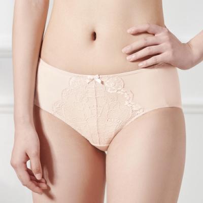黛安芬-輕塑美型系列中腰平口內褲 M-EL 橘粉色