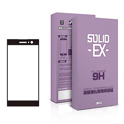 iMos SONY Xperia XA2 熱彎3D 滿版玻璃貼(黑)