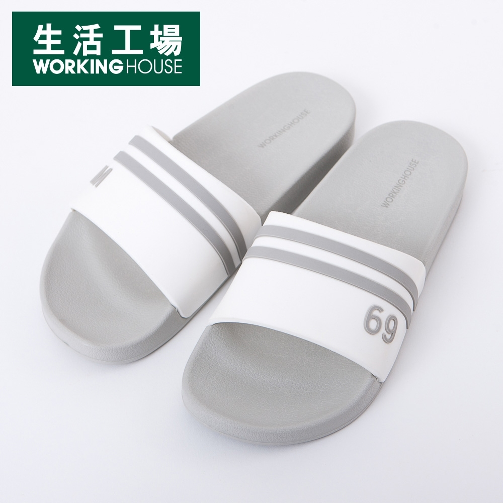 【Sale出清*5折-生活工場】Top Gym運動拖鞋-灰(37)