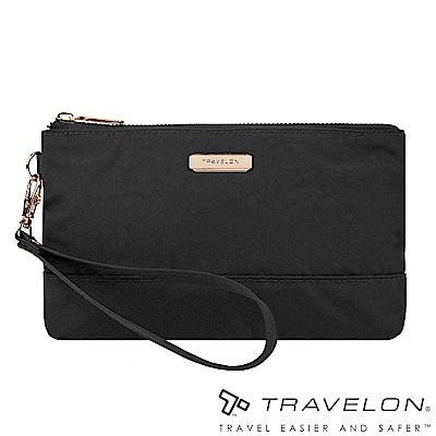 Travelon美國防盜包 RFID BLOCKING單層手拿包TL1-43403黑