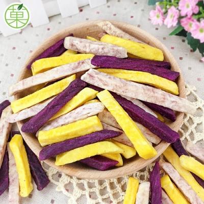 菓青市集 三色酥脆條180g