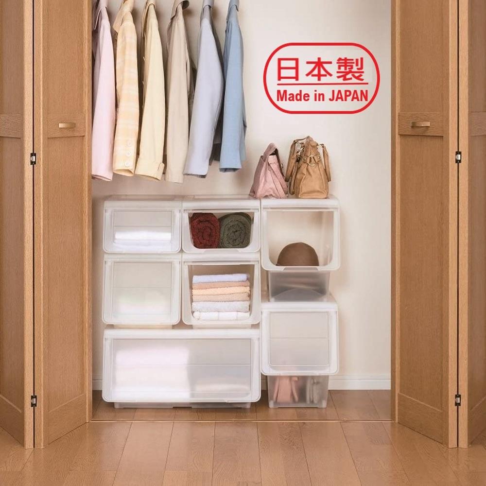 3G+ Storage Box TM7482 日本天馬前掀式整理箱寬型-S(4入)