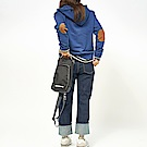 RAWROW-廣場系列-兩用經典單肩包(手提/肩背)-墨黑-RSL600BK