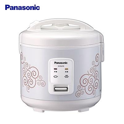 (快速到貨)Panasonic  國際牌 10人份機械式電子鍋 SR-RQ189