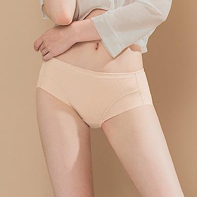 無痕透氣超健康吸濕排汗包臀中腰M-XL內褲 晚安輕吻 可蘭霓Clany