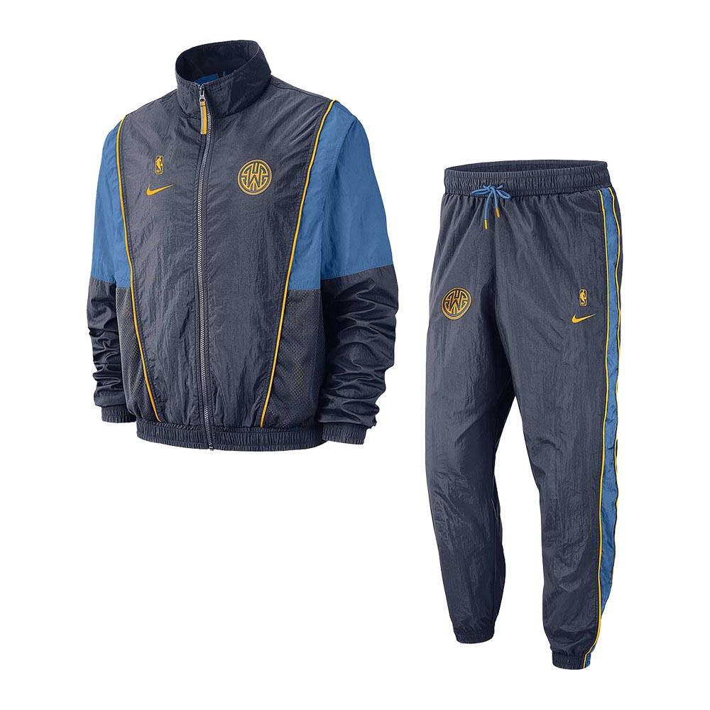 NIKE NBA 熱身套裝 勇士隊 AH8816471