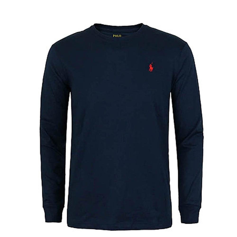 Ralph Lauren 男生 長袖T恤 藍 1450