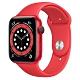 Apple Watch Series 6 (GPS+行動網路) 44mm 紅色鋁金屬錶殼+紅色錶帶(M09C3TA/A) product thumbnail 1