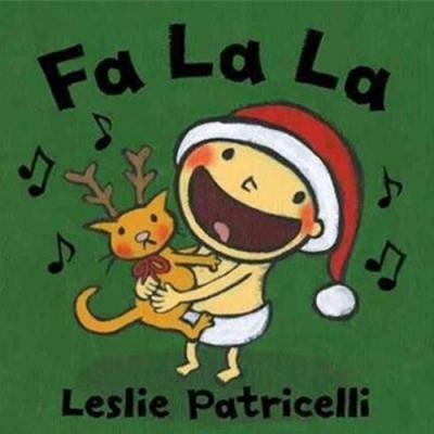 Fa La La 聖誕快樂硬頁書(美國版)