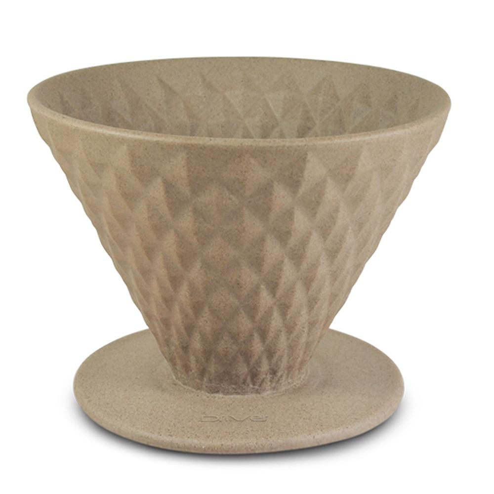 Driver窖作陶瓷濾杯1-2up褐色