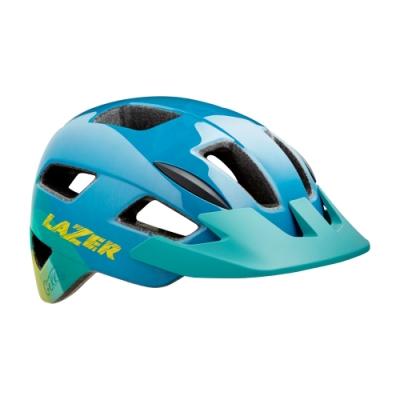 【LAZER】GEKKO 兒童用 自行車安全帽 藍黃