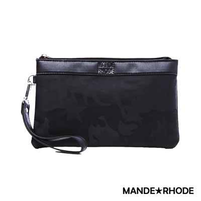 MANDE RHODE-卡莫雷茲x美系潮男風格手拿包