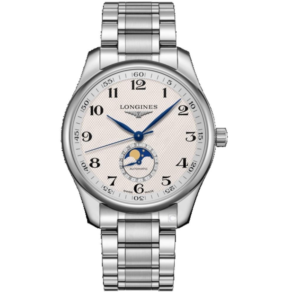 LONGINES浪琴巨擎系列經典月相機械錶(L29194786)