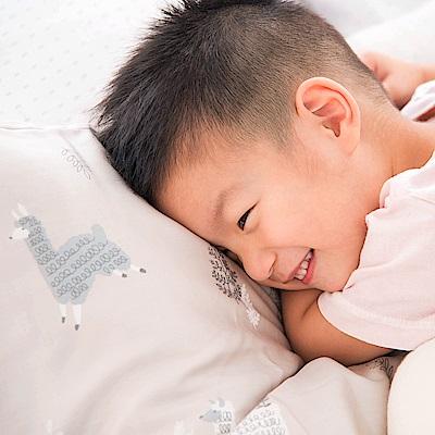 OLIVIA  羊駝森林  標準雙人床包美式枕套組 230織萊賽爾TENCEL