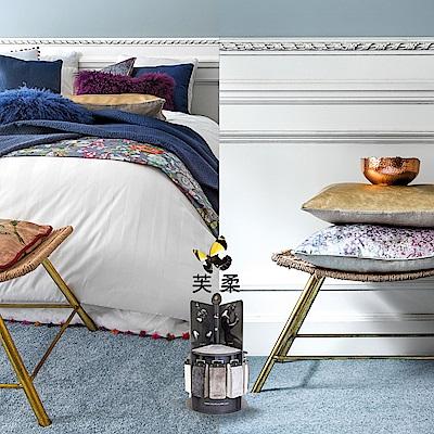 范登伯格 - 芙柔 超柔軟仿羊毛地毯 - 淡藍 (140 x 200cm)