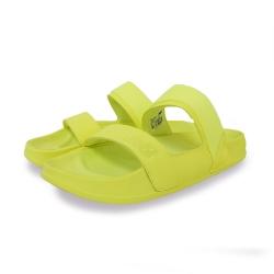 New Balance 涼拖鞋 基本款 輕量 透氣 休閒 男女鞋 黃 SWF202LWB