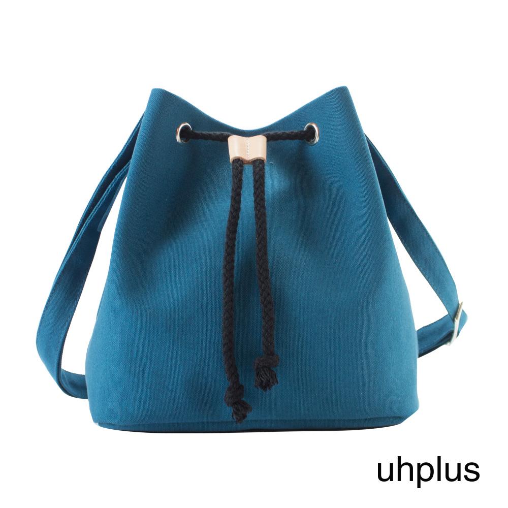 uhplus 簡約輕巧水桶包(淺藍)