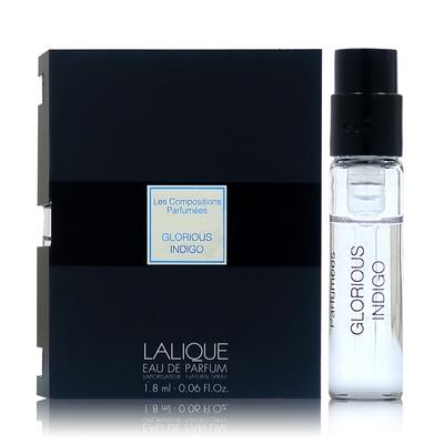 LALIQUE 萊儷煉金系列 GLORIOUS INDIGO 淡香精 1.8ML