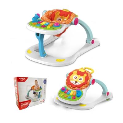 凡太奇 多功能四合一寶寶音樂樂園學步車/坐玩/餐椅/推車模式
