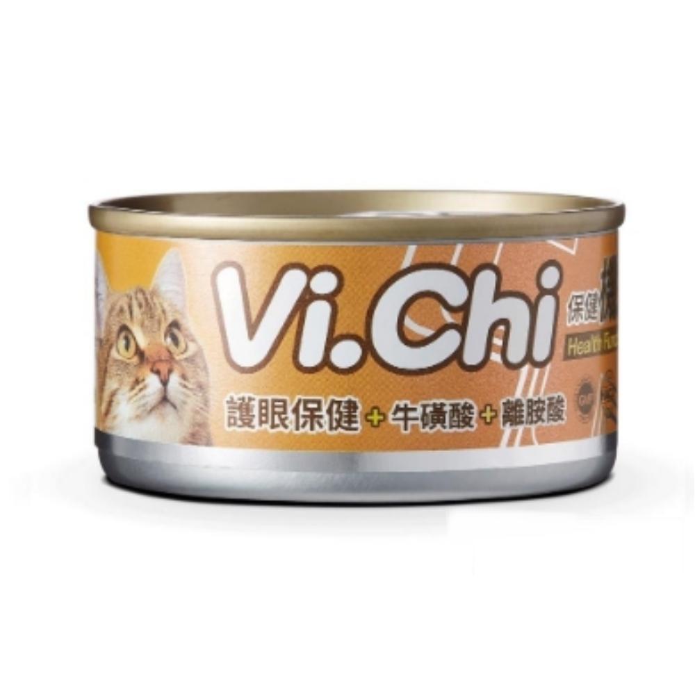 【雙12限定】維齊Vi.Chi 保健機能餐貓罐 80G 48罐組