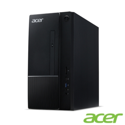(福利品)Acer TC-866 八代i3四核桌上型電腦(i3-8100/4G/512G/500G/Win10h)