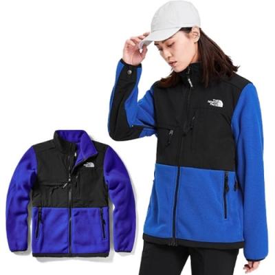 The North Face ICON 熱賣款_經典耐磨排汗透氣保暖刷毛外套夾克_藍