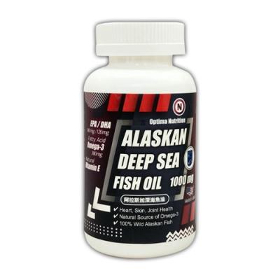 凱樂威careway美國高單位阿拉斯加深海魚油1000MG/120粒