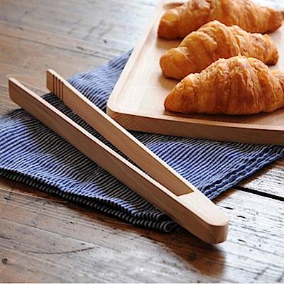 Homely Zakka 木趣食光木質麵包夾料理夾