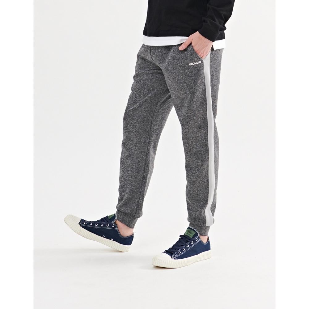 NAVY-側邊條撞色棉褲(二色)-情侶款-男【A1NA077】