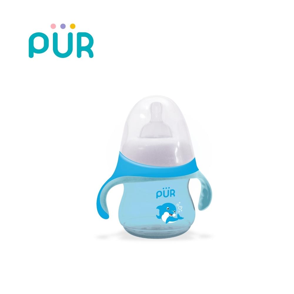 PUR 海豚貝多芬-學習水杯(奶嘴型)230ml