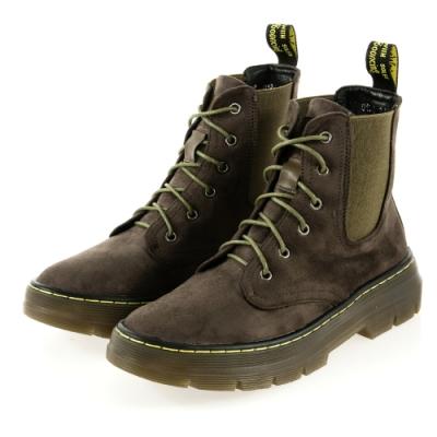 JMS-經典進化切爾西綁帶馬汀馬丁短靴-墨綠色