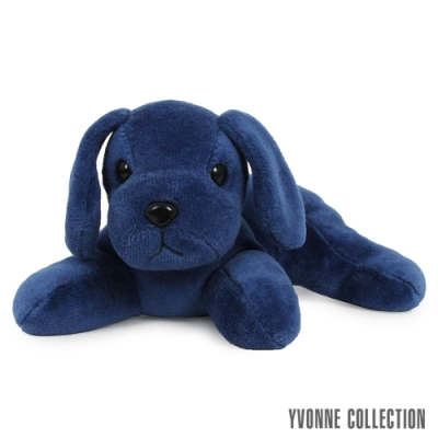 Yvonne Collection 趴趴狗玩偶-深藍