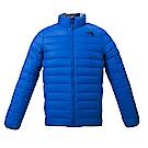 The North Face北面男款藍色輕便羽绒服外套   3KTFWXN