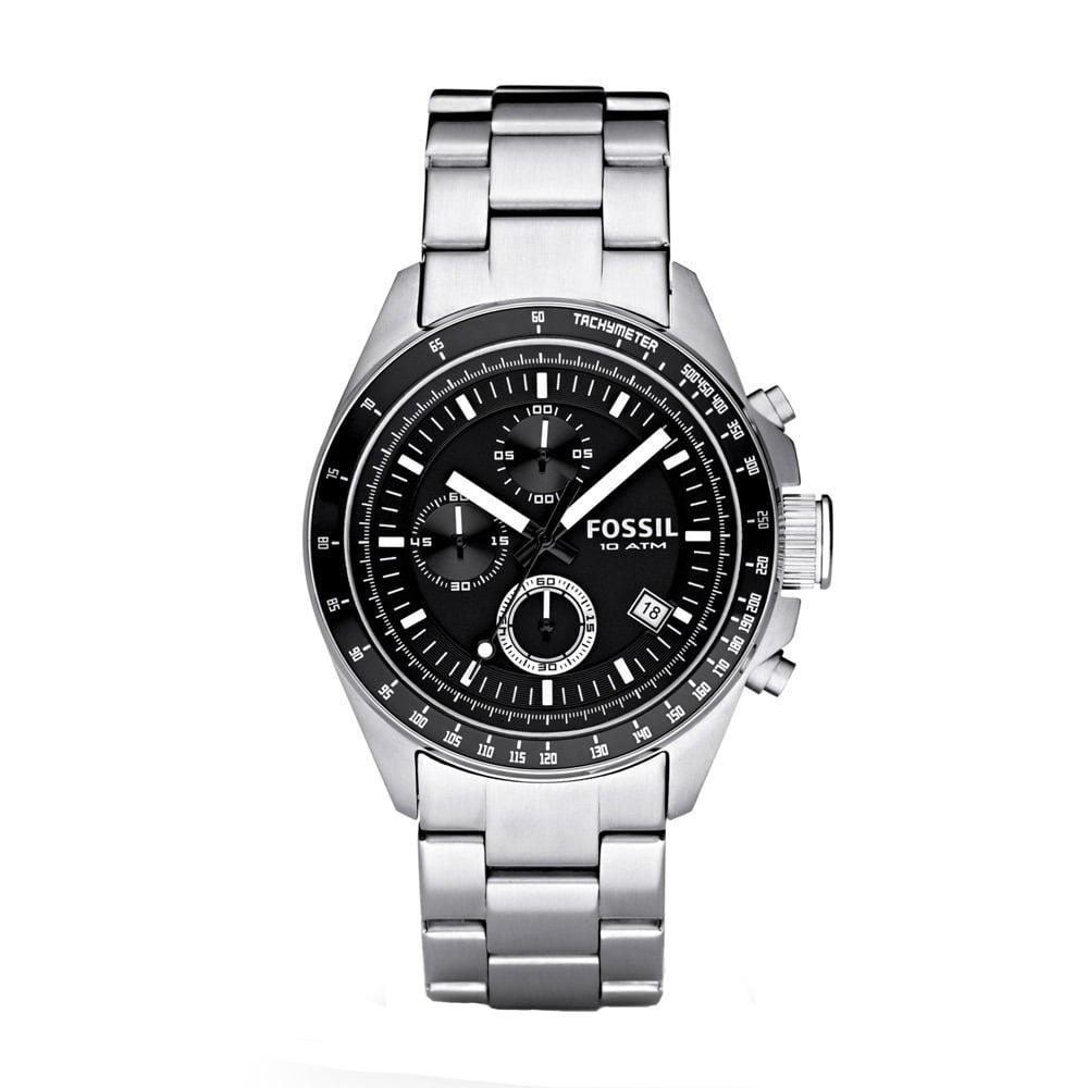 FOSSIL 沉穩魅力時尚紳士腕錶(CH2600IE)-黑/44mm