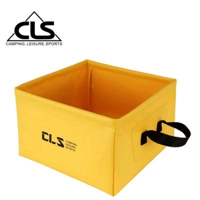 韓國CLS 戶外多功能方形折疊水桶 儲水盆 水袋(三色任選)