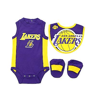 NBA 新生兒包屁衣組合 湖人隊