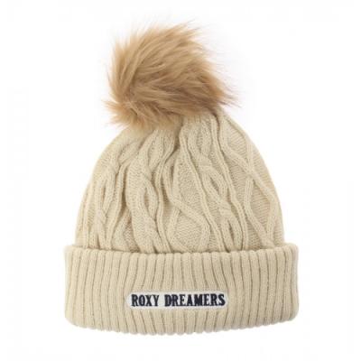 【ROXY】COUNTRY CALLING 毛帽 米