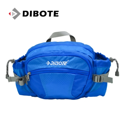 迪伯特DIBOTE 多功能戶外休閒透氣腰包/背包 (藍)