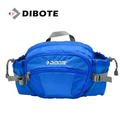迪伯特DIBOTE 多功能戶外休閒透氣腰包/背包 (藍) -快速到貨