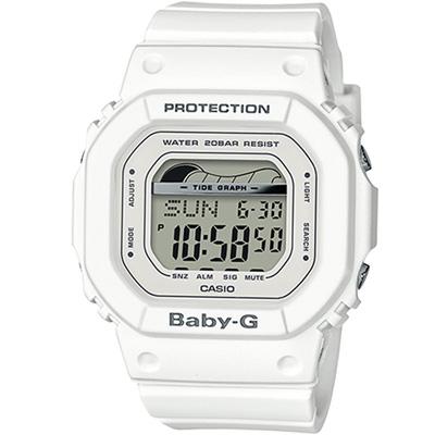 BABY-G夏季衝浪運動腕錶(BLX-560-7)白/40mm @ Y!購物