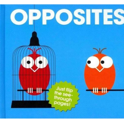 Opposites 比一比精裝膠片書