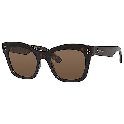 Polaroid PLD 4039/S-經典方框太陽眼鏡 深玳瑁