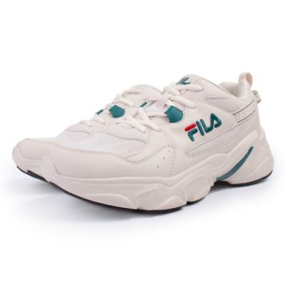 【FILA】HIDDEN TAPE  運動鞋 男鞋-米(1-J329U-116)