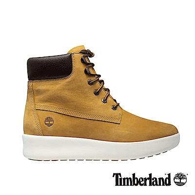 Timberland 女款小麥黃皮革6吋靴
