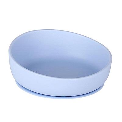 韓國UYOU 兒童矽膠防滑餐碗-寶貝藍