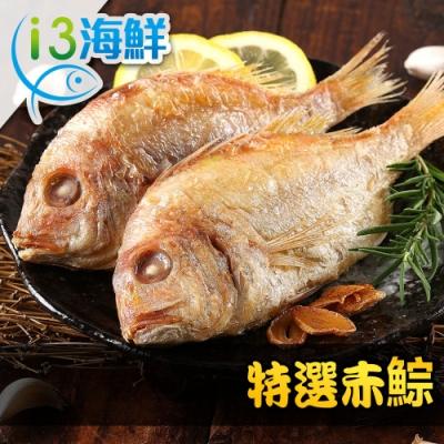 【愛上海鮮】特選赤鯮15尾(600g±10%/包/5尾裝)