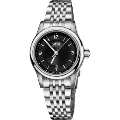 ORIS 豪利時 Classic 日期機械女錶-28.5mm