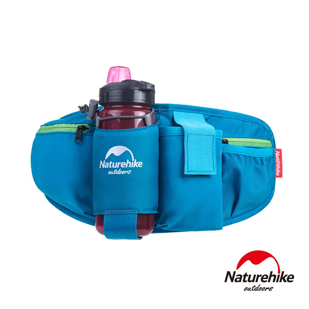Naturehike 5L超輕透氣貼身水壺腰包 藍色-急